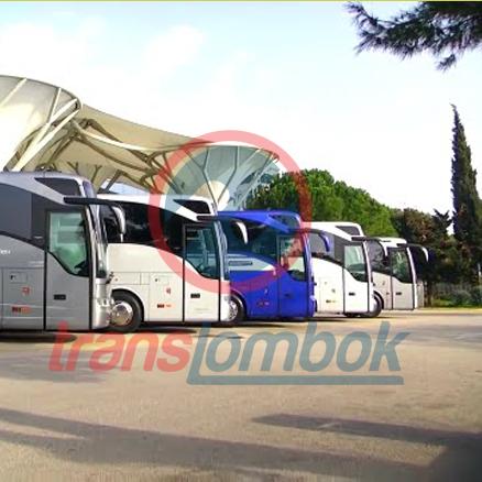 Sewa Bus di Lombok